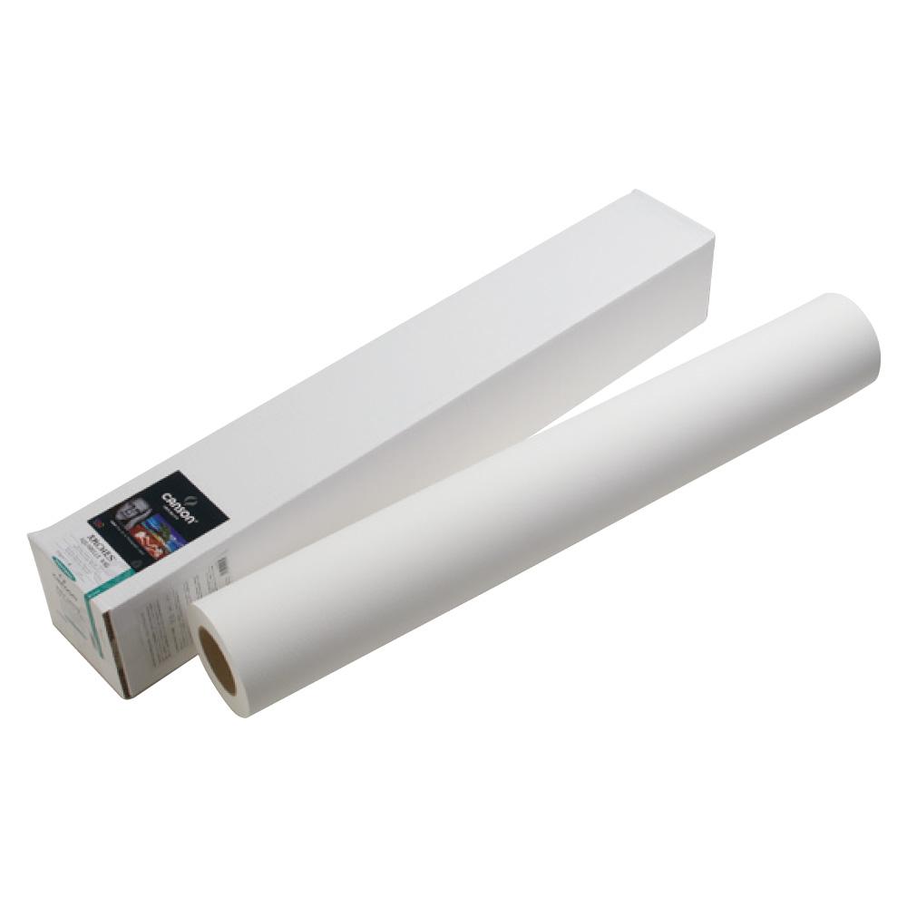 キャンソン インフィニティ 水彩紙ベース系インクジェット用紙 アクアレル・ラグ 44インチ×50フィート 1本入
