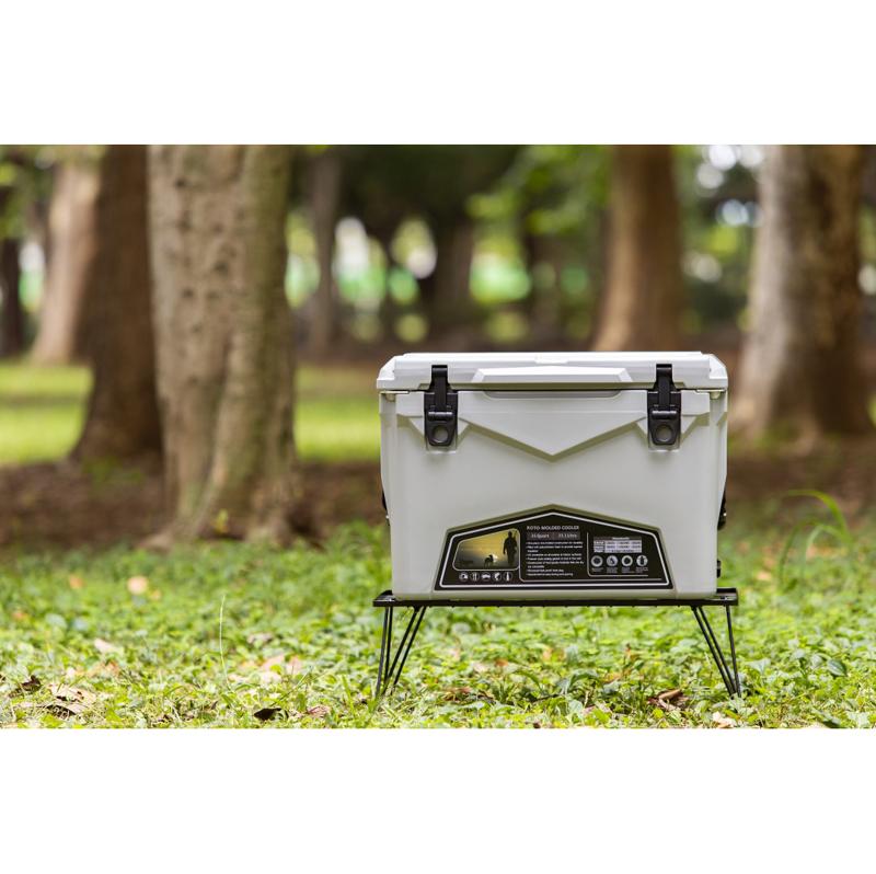 ICELANDCOOLER Hard Cooler Box(ハードクーラーボックス) 35QT(33.1L) Cool Gray(クールグレイ)