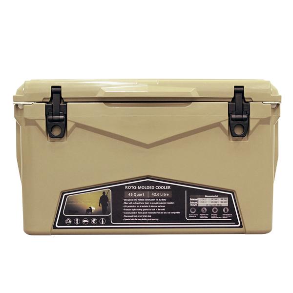 ICELANDCOOLER Hard Cooler Box(ハードクーラーボックス) 45QT(42.6L) Sand(サンド)
