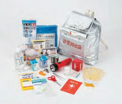 角利産業 緊急避難セット KRA-120 6個セット