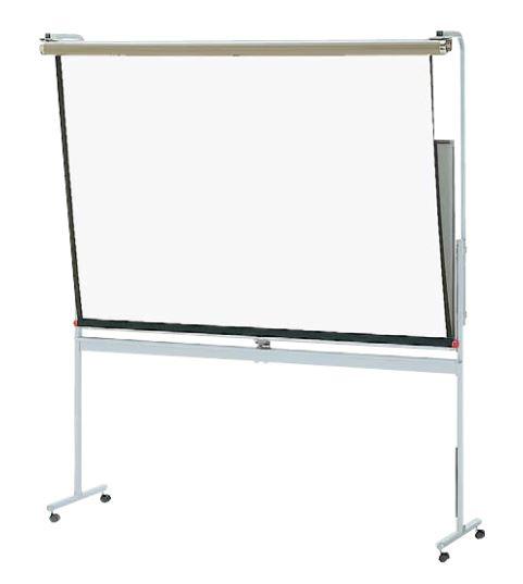 内田洋行 脚付ボード スタンダードタイプ専用スクリーン3×6型 [ 6-190-9736 ]