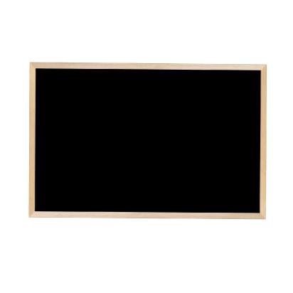 馬印 木枠ボード スチールブラックボード 900×600mm WOEB23