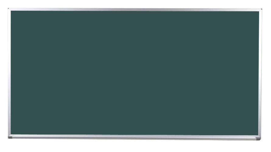 馬印 Pシリーズ 壁付ホーローグリーン黒板 片面 PG306