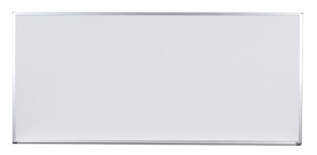 馬印 Pシリーズ 壁付ホワイトボード 片面 ニッケルホーロー PH409
