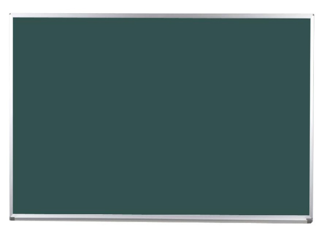 馬印 Pシリーズ 壁付スチールグリーン黒板 片面 PS406
