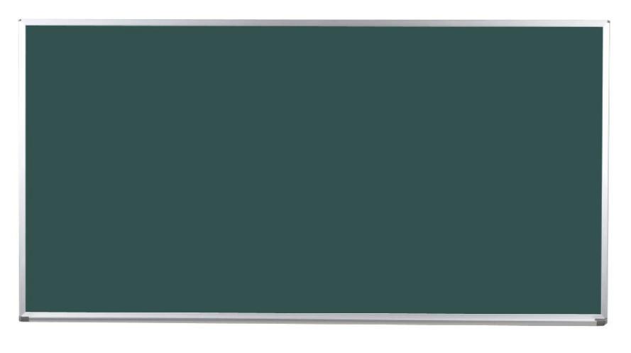 馬印 Pシリーズ 壁付ホーローグリーン黒板 片面 PG408