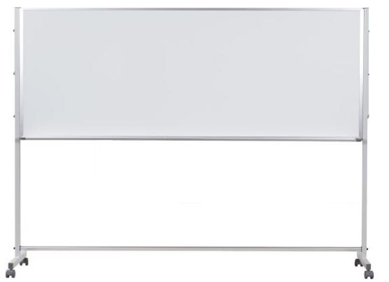 馬印 Pシリーズ 片面脚付ホワイトボード 無地 ニッケルホーロー PTH308