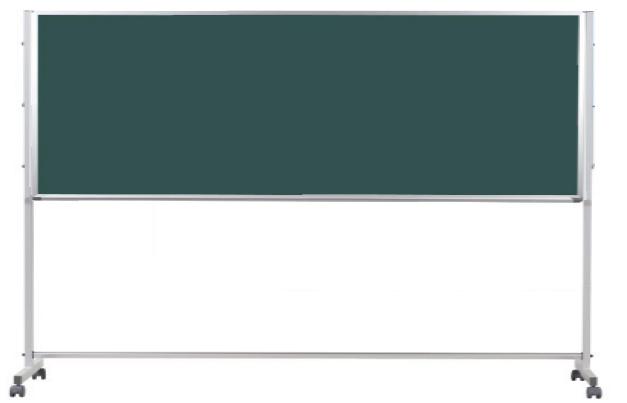 馬印 Pシリーズ 片面脚付スチールグリーン黒板 PTS309