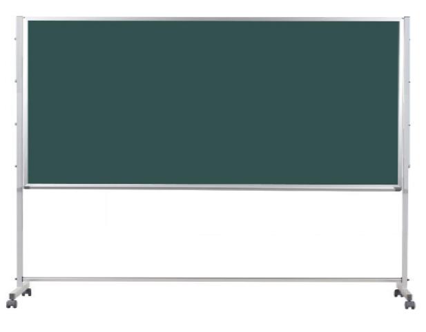 馬印 Pシリーズ 片面脚付スチールグリーン黒板 PTS409