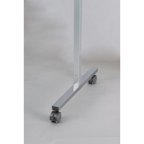 馬印 展示パネル AR連結ボード用アルミポール32 H1800用 四面用 キャスター付 AR32T18C4