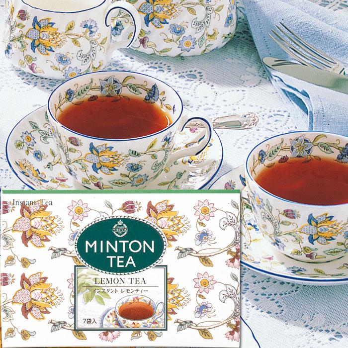 イギリスの伝統と精神を受け継いだ 本格的な英国紅茶です 優先配送 ミントン インスタントティー レモンティー 7g×7P 英国紅茶 MINTON TEA 森半 紅茶 ヴァレンタイン バレンタイン プチギフト 敬老の日 かわいい おしゃれ 5☆大好評 インスタント オシャレ 粉末 退職 美味しい プレゼント 引っ越し 誕生日 ギフト 挨拶 お返し イギリス お礼