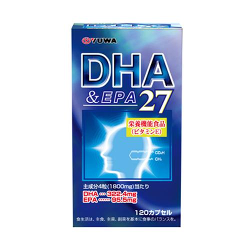 【送料無料】【ケース販売】DHA&EPA27 120カプセル〔ケース入数 20〕