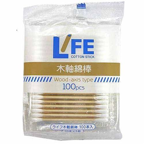 平和メディク ライフ 木軸綿棒 袋入 日本メーカー新品 100本入 買い物