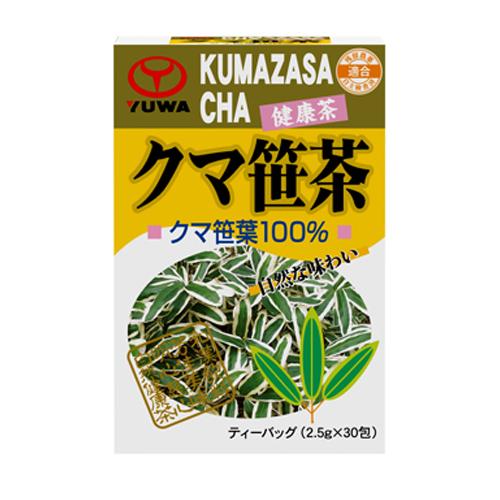 【送料無料】【ケース販売】クマ笹茶(箱) 30包 〔ケース入数 20〕