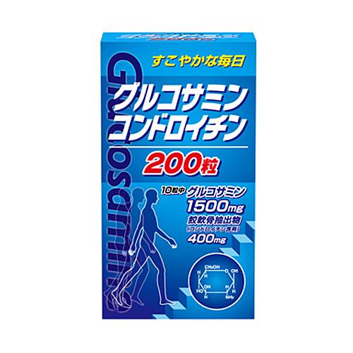 【送料無料】【ケース販売 20〕】グルコサミン・コンドロイチン 200粒〔ケース入数 20〕, らいぶshop:8ddff95c --- officewill.xsrv.jp