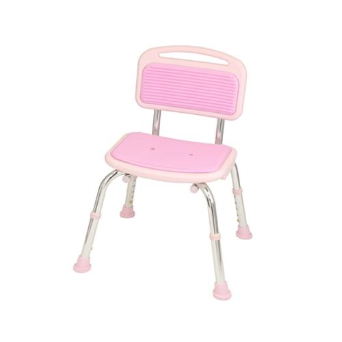 テイコブシャワーチェア(背付) BSOC01 ピンク