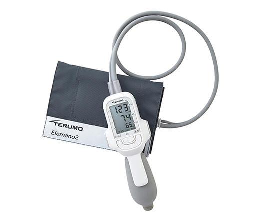 【送料無料】テルモ電子血圧計 エレマーノ2(ダブルカフ方式)上腕式 ES-H56 ホワイト【医療用血圧計】【病院用血圧計】【テルモ血圧計】【血圧計】【電子血圧計】