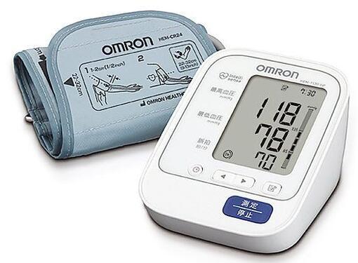 オムロンヘルスケア デジタル上腕式血圧計 HEM-7130-HP
