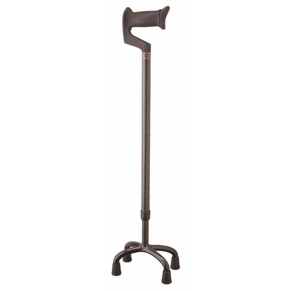 【送料無料】カーボン4点杖SC-1 伸縮タイプ 【介護用品】【杖・ステッキ】【リハビリ対応の杖】
