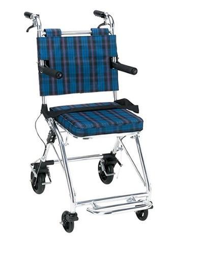 介助車アルミ製 NP-200NC 折りたたみ可【アルミ製車椅子】【介助車椅子】