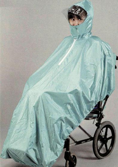 車いす用レインコート フリーサイズ カラー3色【車イス】【雨具】【カッパ】