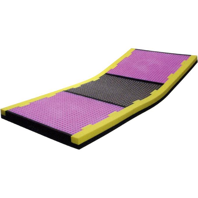 ピタ・マットレス 三つ折タイプ ケアタイプ(91cm幅)【介護用品】【マットレス】【持ち運び】【床ずれ防止】【床ずれ予防】【床周り】