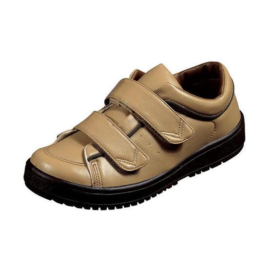 リハビリ 介護靴 Vステップ05 (両足同サイズ)3E相当 装具対応シューズ【介護靴】【高齢者向けシューズ】【装具対応靴】【外履き】【外出用靴】