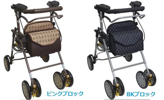 44輪歩行車 シンフォニーAR 肘おき付タイプ【歩行補助】【歩行器】【高齢者向け歩行器】