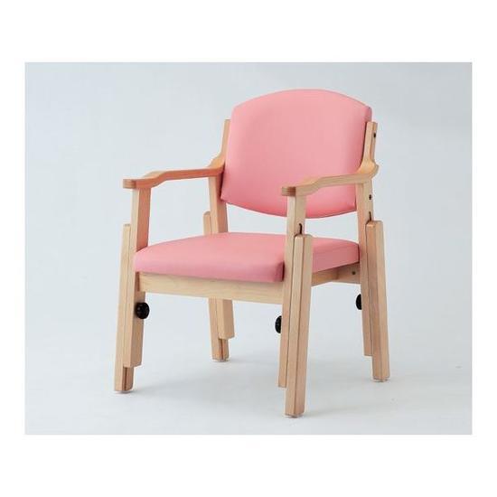 椅子[アジャスト]AJS-150-V 調節グリップ付【介護用品】【介護用家具】