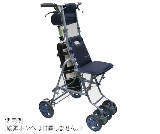 シルバーカー  酸素ボンベカー【サニー】折りたたみ可【介護用品】【歩行器】