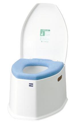 ポータブルトイレ SP 低座面(30cm)タイプ 品番533-222【介護用品】【介護トイレ】