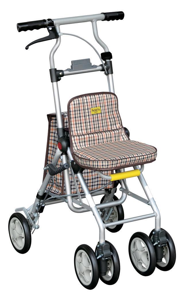 ポシェットS-ll【シルバーカー】【コンパクト】【散歩】【歩行器】【外出】【買い物】