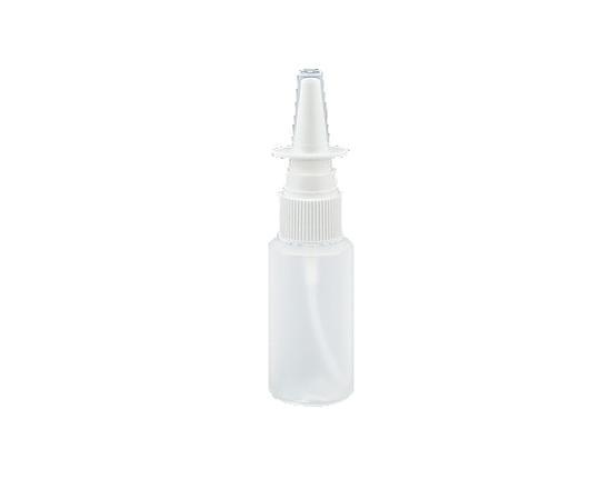 点鼻容器 20mL 半透明/乳白 100本入ミストボトル・未滅菌