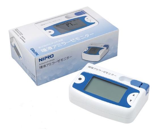 【あす楽】ニプロ 乾式臨床化学分析装置 唾液アミラーゼモニター 1台 品番59-014