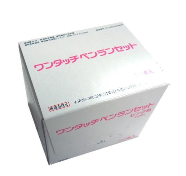ワンタッチペンランセットのピンクになります あす楽 ワンタッチペンランセット ピンク 30G 秀逸 30本入 血糖測定用針 箱×5箱セット 送料無料 新品 品番23904 ジョンソンエンドジョンソン 穿刺針