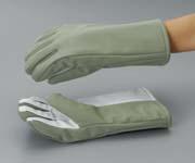 超低温用手袋 CGM-17 手の平滑止付 レギュラーサイズ【液体窒素取扱い手袋】【耐熱手袋】【耐熱防災手袋】