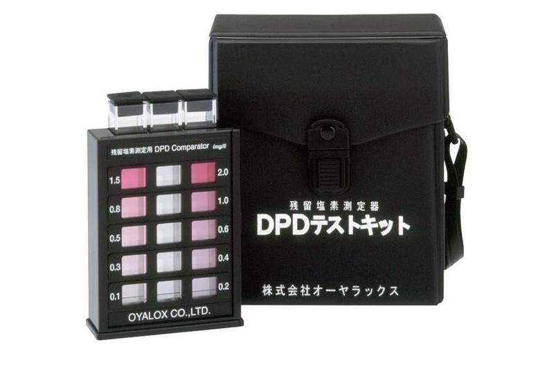 残留塩素測定器 DPDテストキット【残留塩素】【測定】【DPD法】【検査キット】