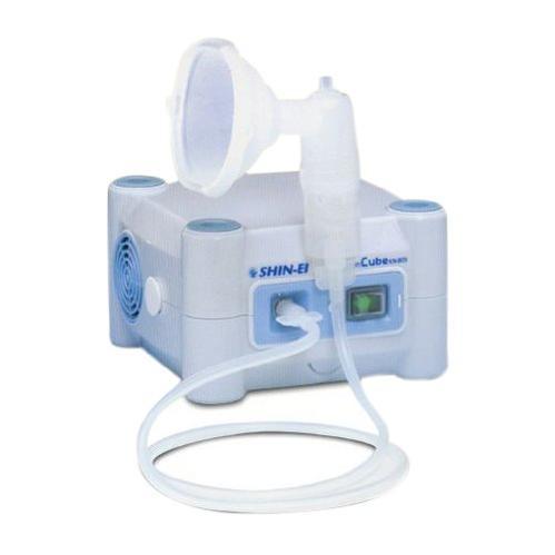 【送料無料】ネブライザー ミリコンキューブCube KN-80S【専用キャリングバッグ付】【ジェット式ネブライザー】【吸入器】【呼吸関連】