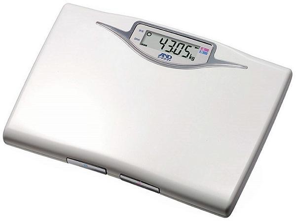 精密体重計 50g単位表示 A4サイズ コンパクトデザイン  【送料無料】【体重計】【ボディスケール】