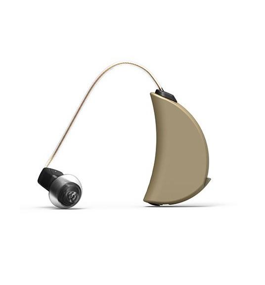 【両耳】エクサイレント 耳掛け式聴音補助器 Y tango GO 両耳(右耳用/左耳用 1セット)【オランダ EXSILENT社】シャンパンゴールド