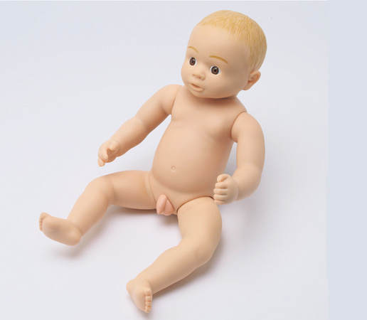 沐浴用人形 ひかり 【沐浴関連商品】【病院備品】【沐浴練習】