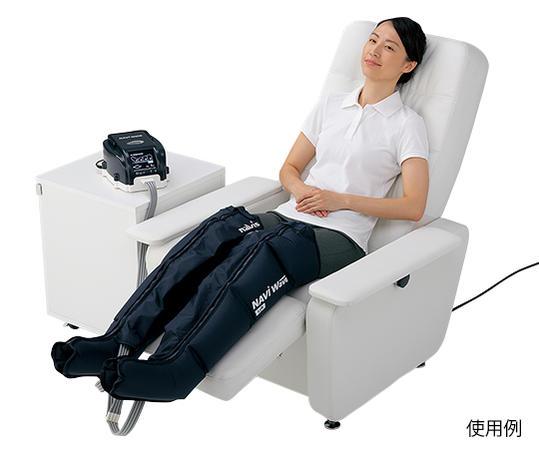 エアマッサージ器 ナビウェーブ NV-9100(両足セット)【足用マッサージ器】【空気圧マッサージ】【エアーマッサージ器】