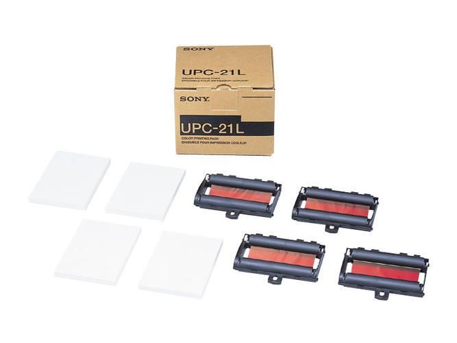 ソニーメディカルプリンター専用 カラープリントパック UPC-21L