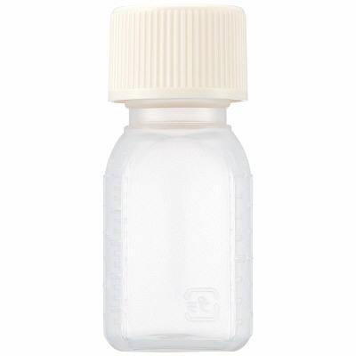 セーフティー小判瓶  [容量100ml×200本入]【調剤用品】【投薬瓶】