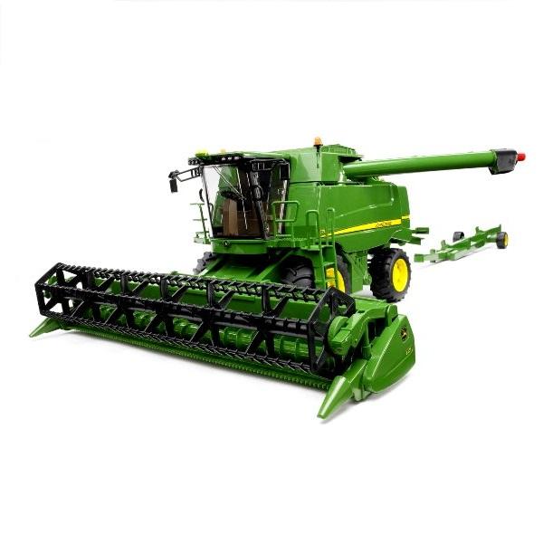 農業 トラクター はたらく車 ミニカー ジョンディアー BRUDER ブルーダー JD コンバインハーベスター T670i 02132