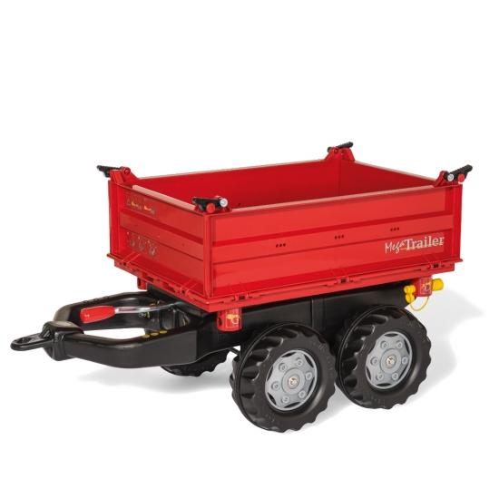 乗用おもちゃ rolly toys ロリートイズ メガトレーラー(Red) RT123018