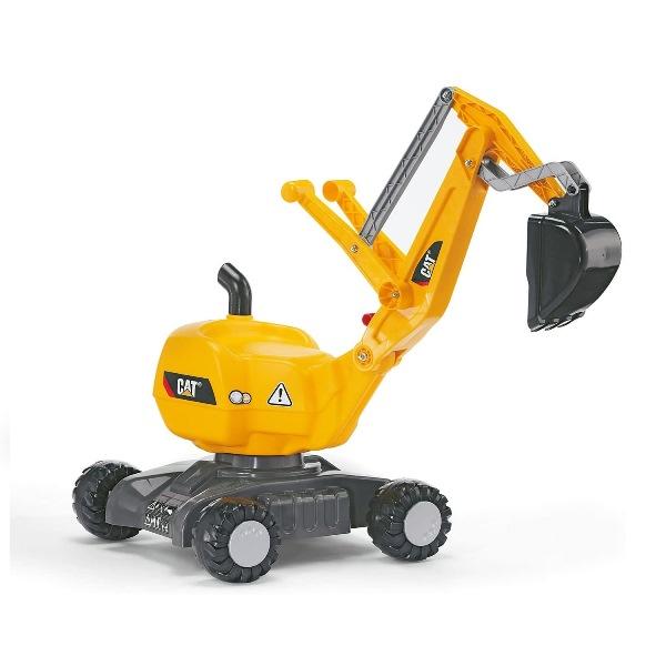 乗用玩具ショベルを自分で動かして パパのお手伝いだ 乗用おもちゃ 期間限定送料無料 rolly toys 引出物 ロリートイズ 421015 CAT ディガー