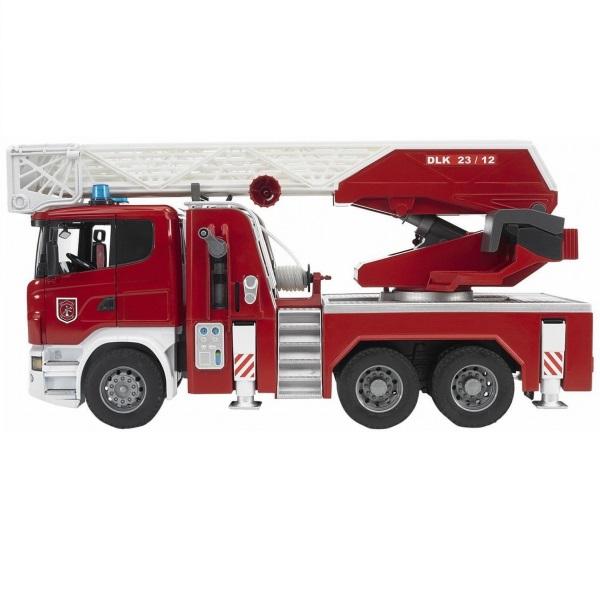 車のおもちゃ BRUDER ブルーダー SCANIA 消防車 03590