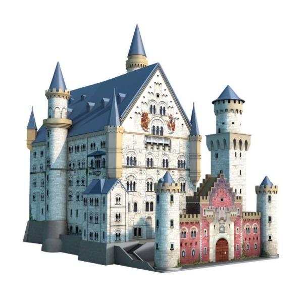 立体パズル ジグソーパズル ラベンズバーガ― 3Dパズル ノイシュヴァンシュタイン城(216ピース)12歳から