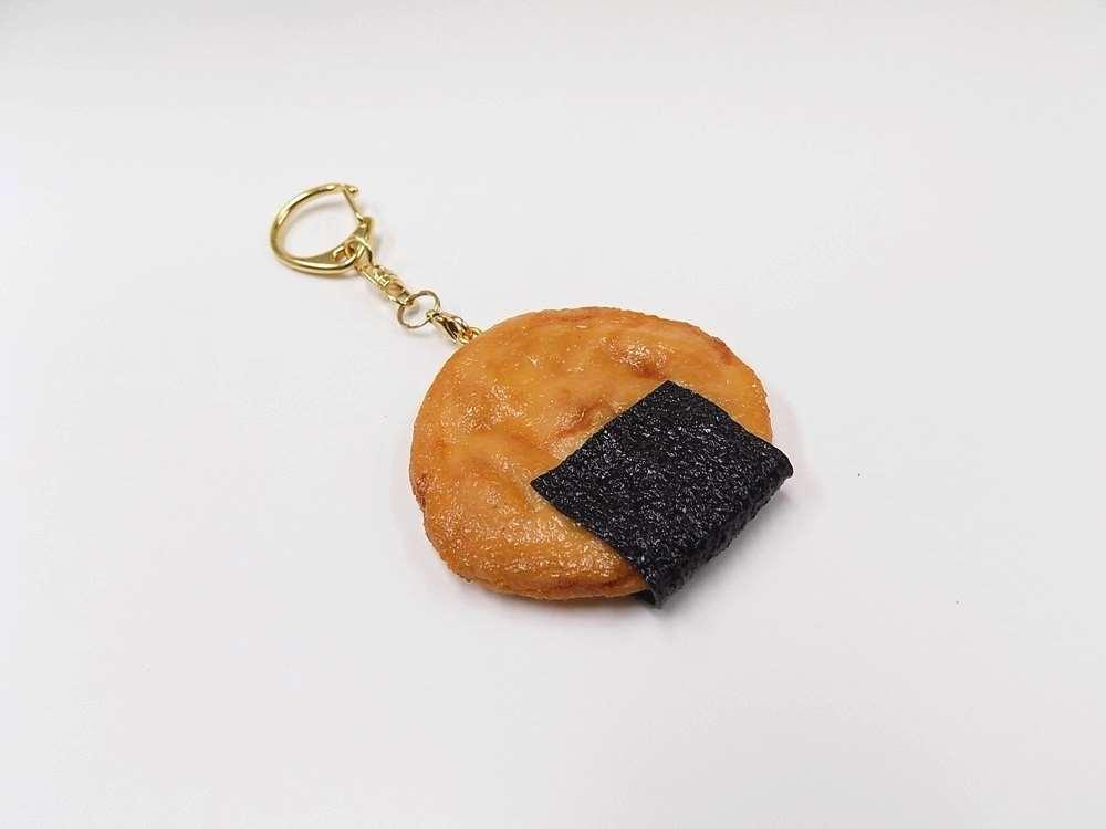 食品サンプル キーホルダー アウトレットセール 春の新作続々 特集 煎餅 のり